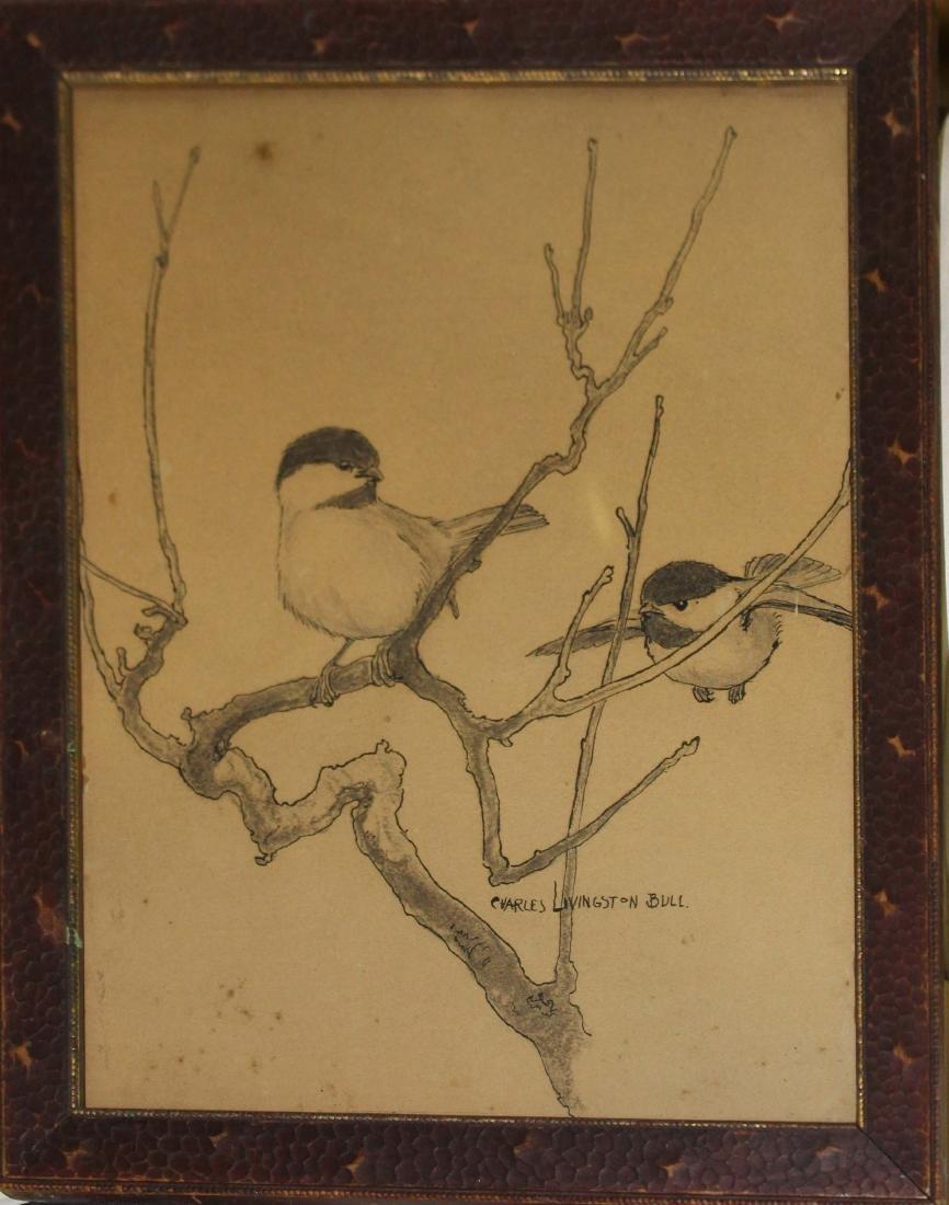 Charles Livingston Bull (Am 1874-1932) Chickadee
