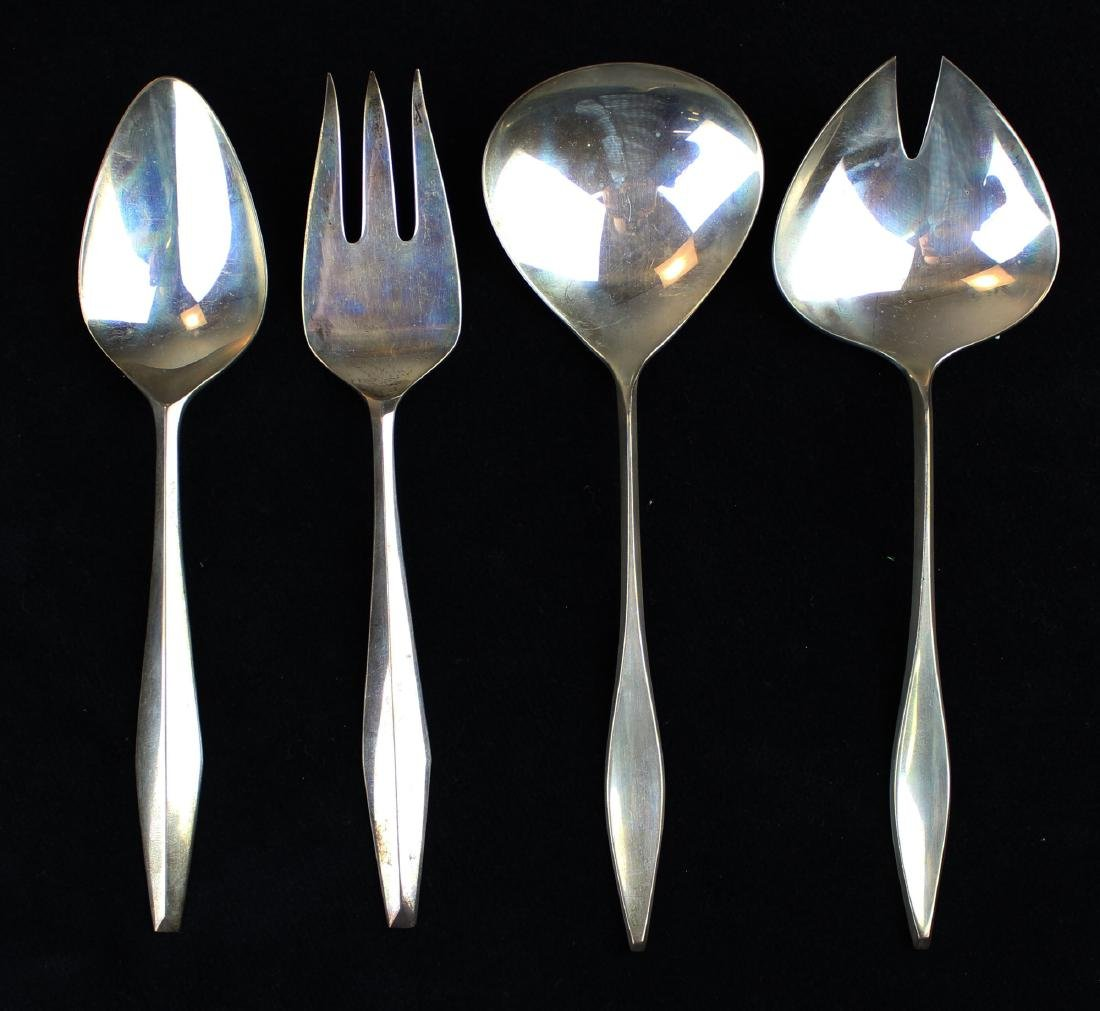 4 pcs. Reed & Barton sterling serving flatware