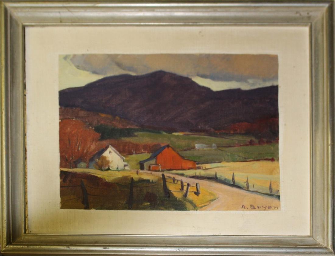 Alden Bryan (VT 1913-2001) Evening Light