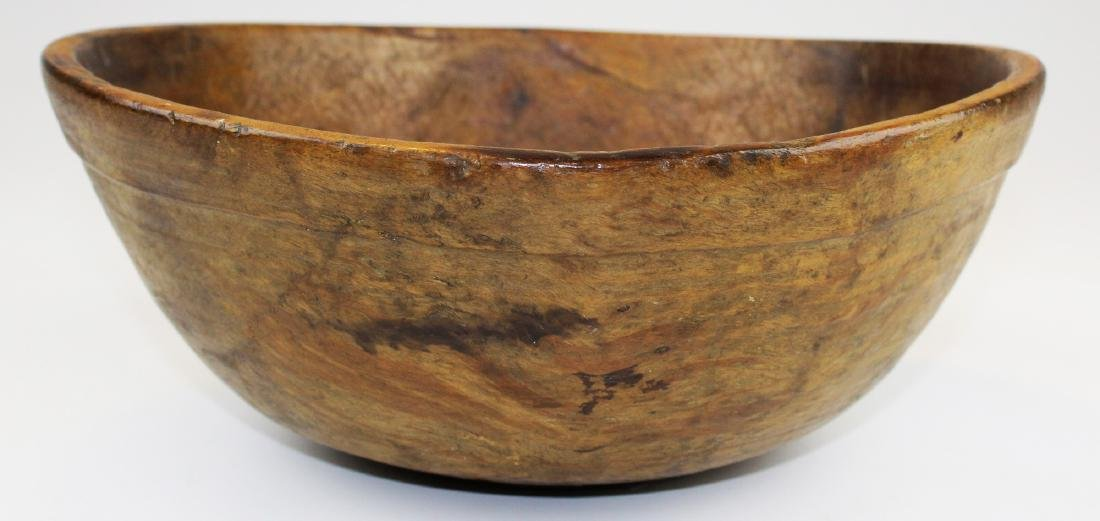 late 18th- early 19th c burl bowl