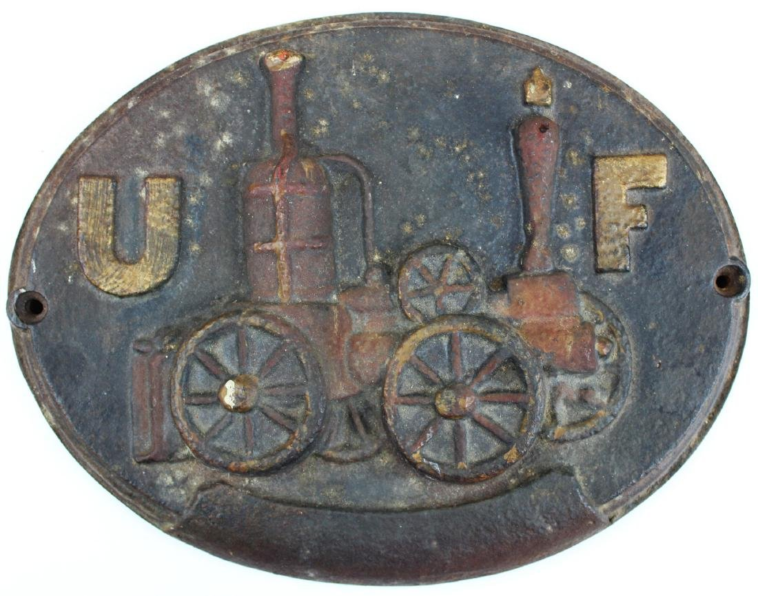 early 19th c cast iron fire mark
