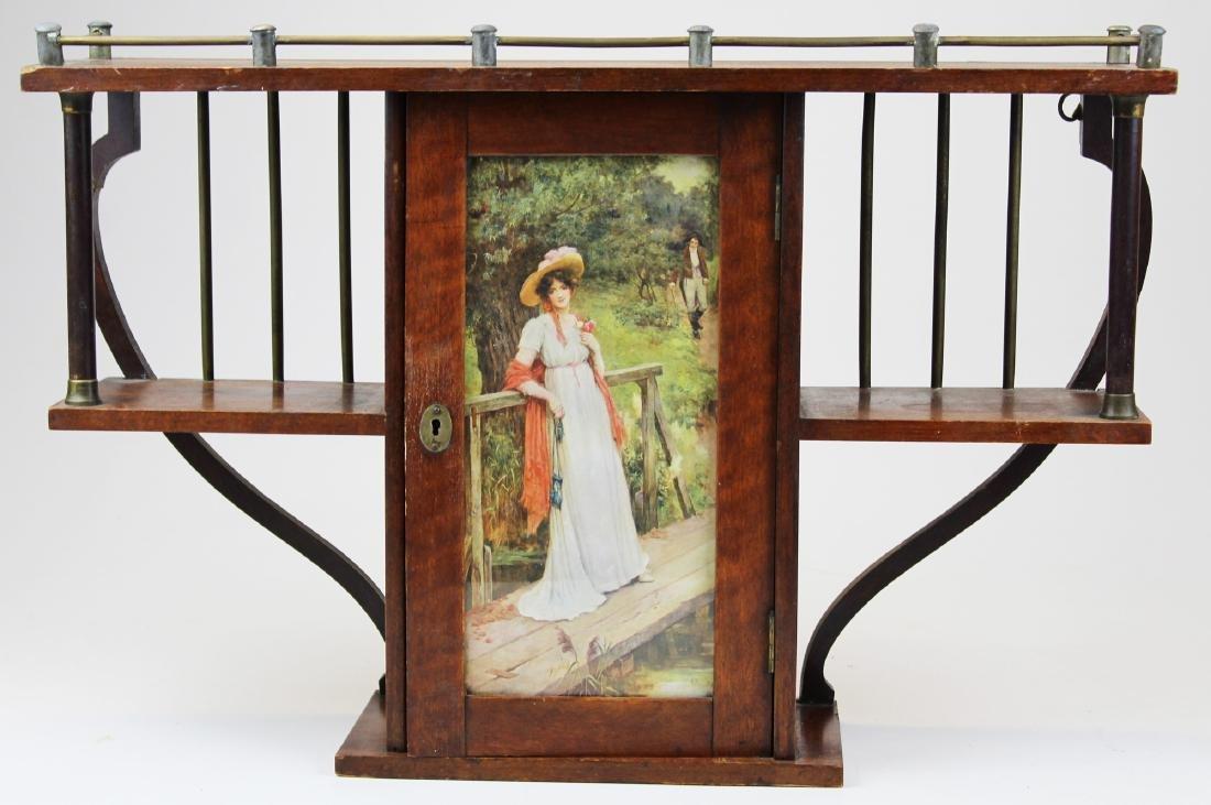 late Victorian ormolu mounted curio cabinet