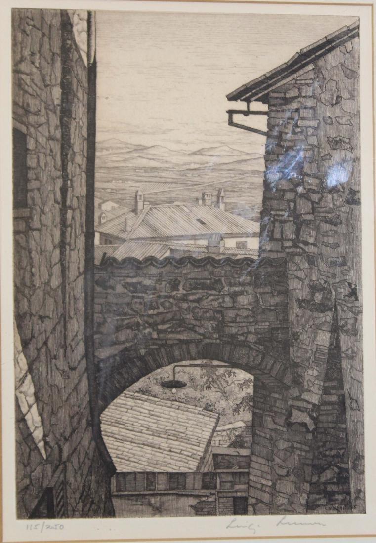 Luigi Lucioni (VT 1900-1988) Italian landscape