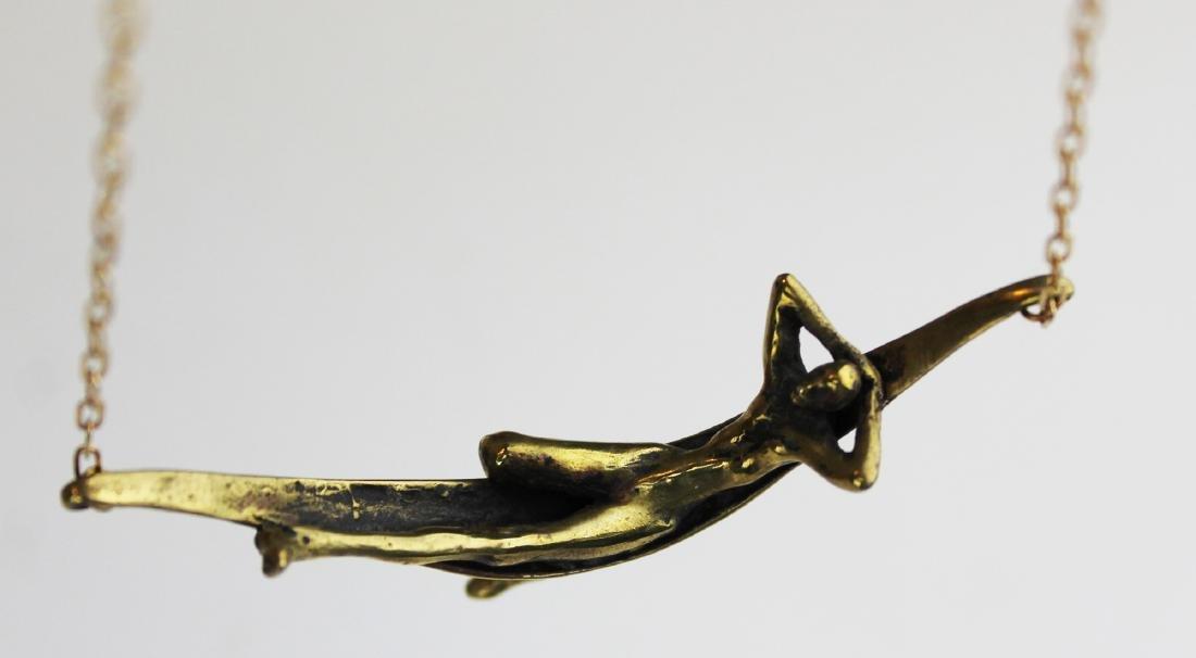 Patrick Farrow contemporary figural necklace