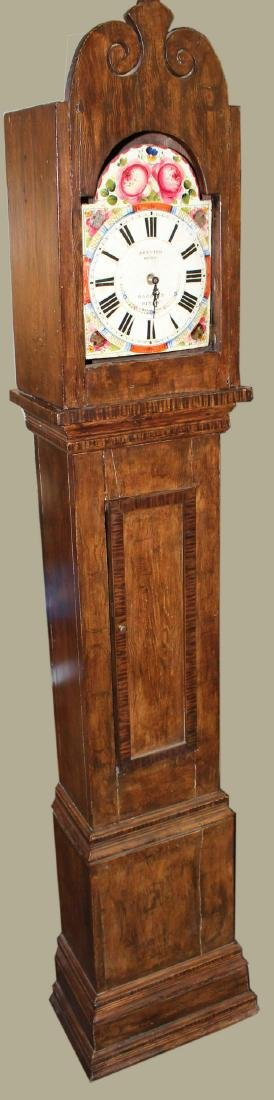 19th c French provincial tall case clock