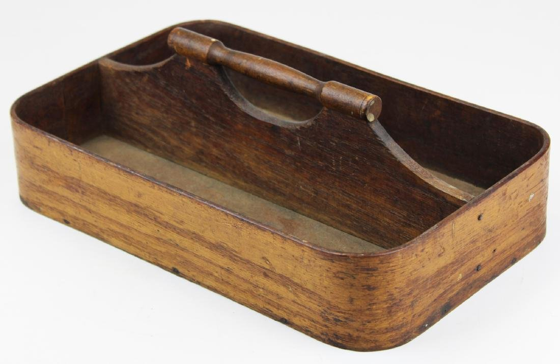 late 19th- early 20th c Shaker knife box