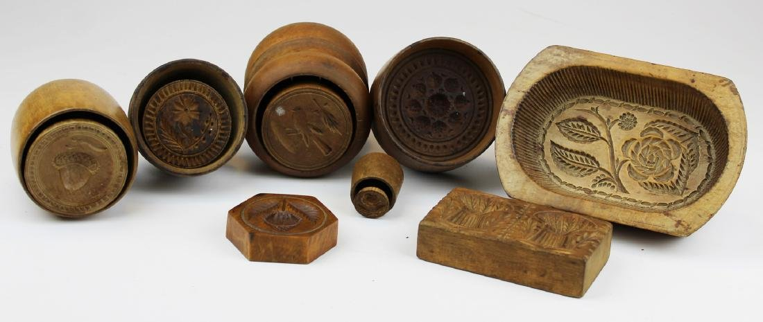 late 19th- early 20th c butter molds