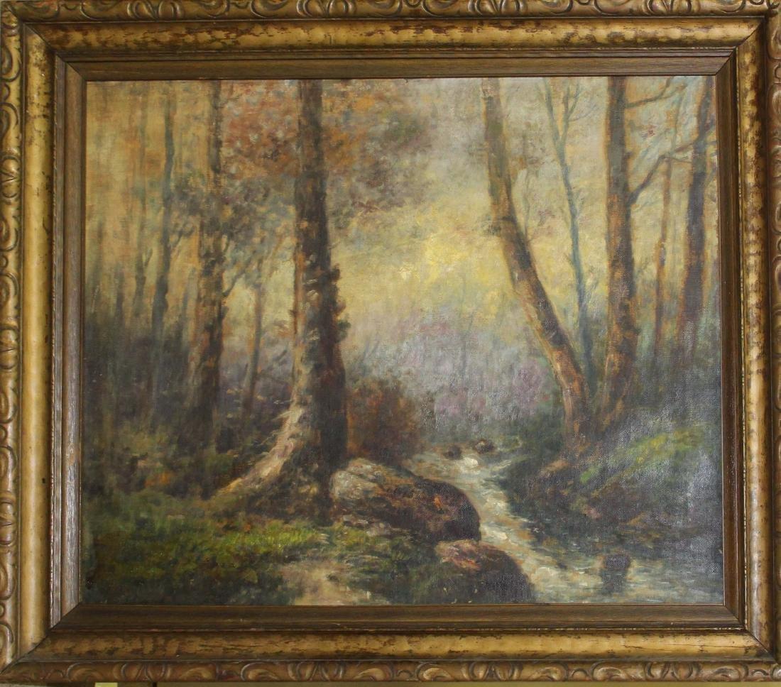 Marcus Gottsdanker (20thc) Forest landscape