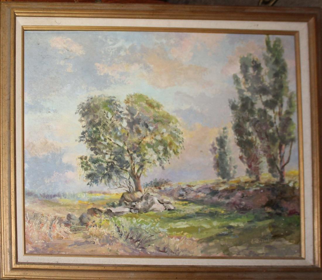 Landscape signed Grubb