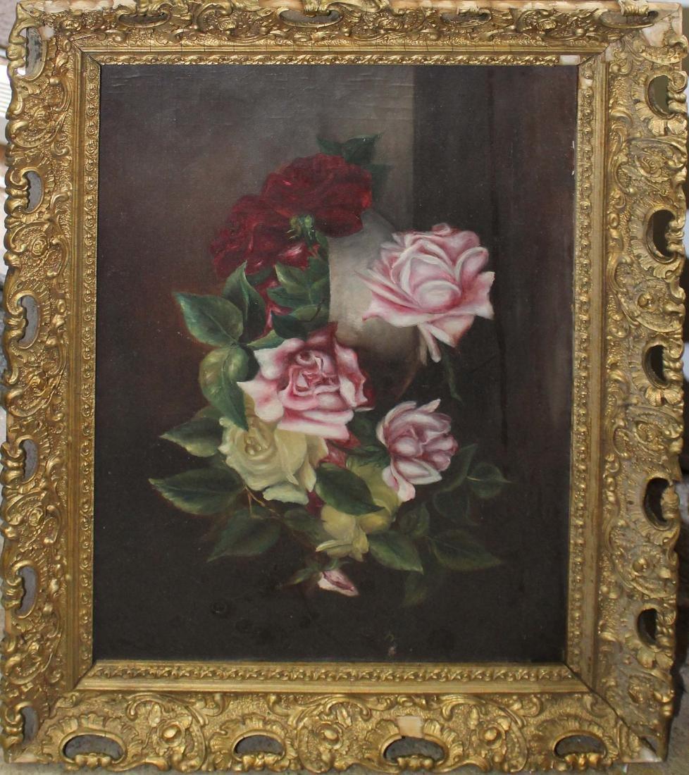 19th c Victorian still life