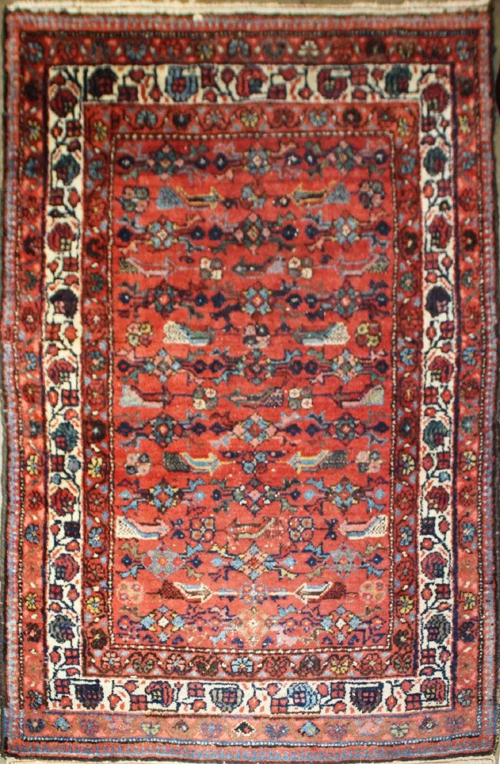 early 20th c Persian tribal area rug