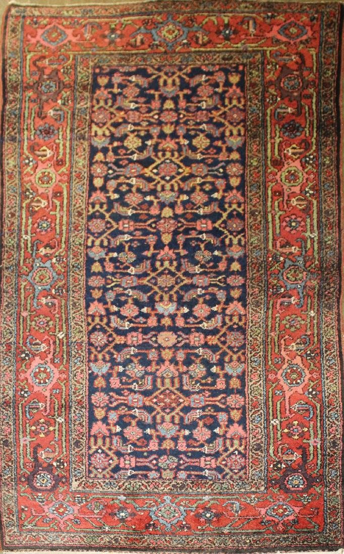 mid 20th c Persian Sarouk area rug
