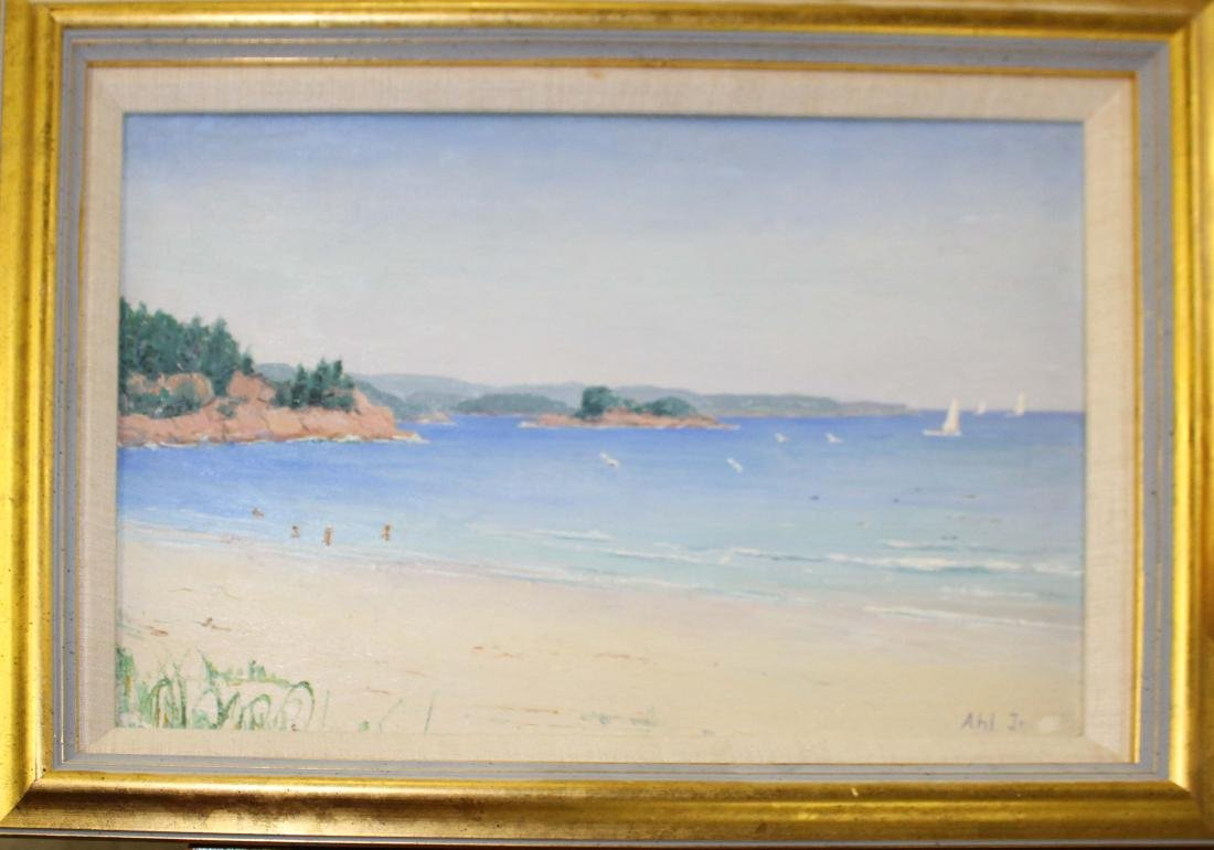 Henry Curtis Ahl Jr (AM 1905-1996) Singing Beach