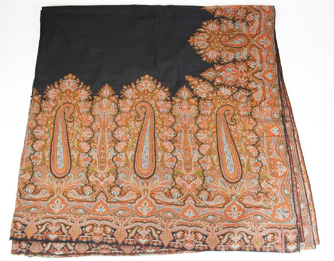 late 19th c paisley shawl