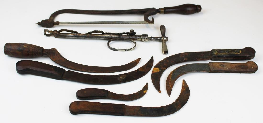 19th c surgical tools - 2