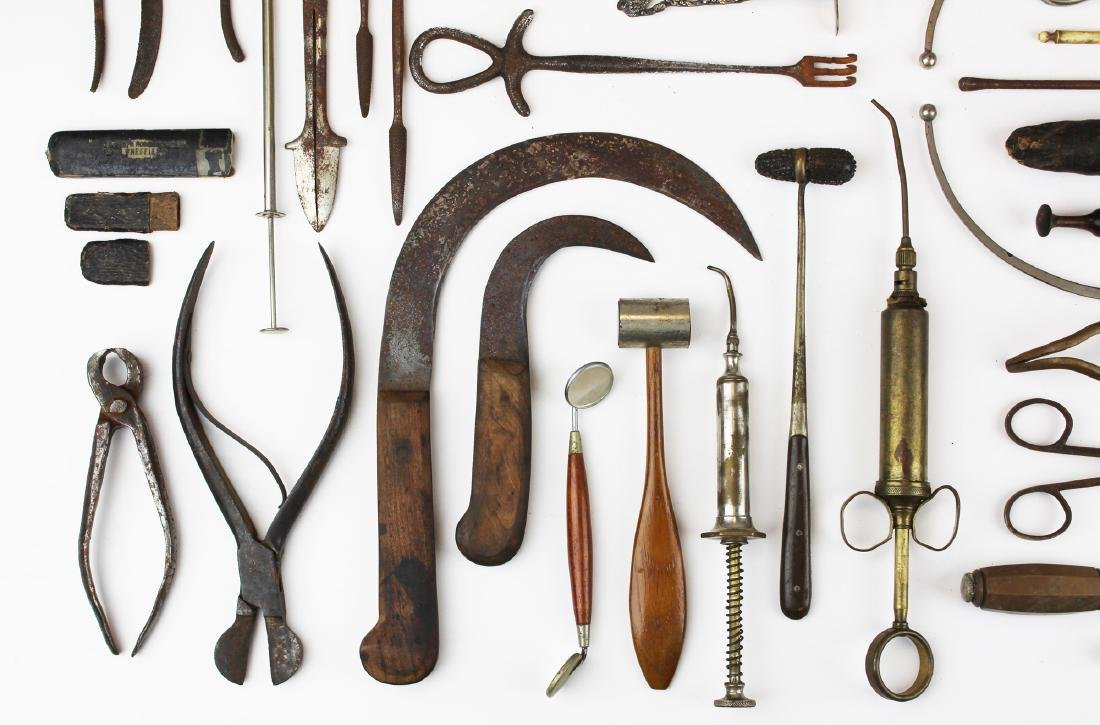 19th c & 20th c surgical & doctor implements. - 3