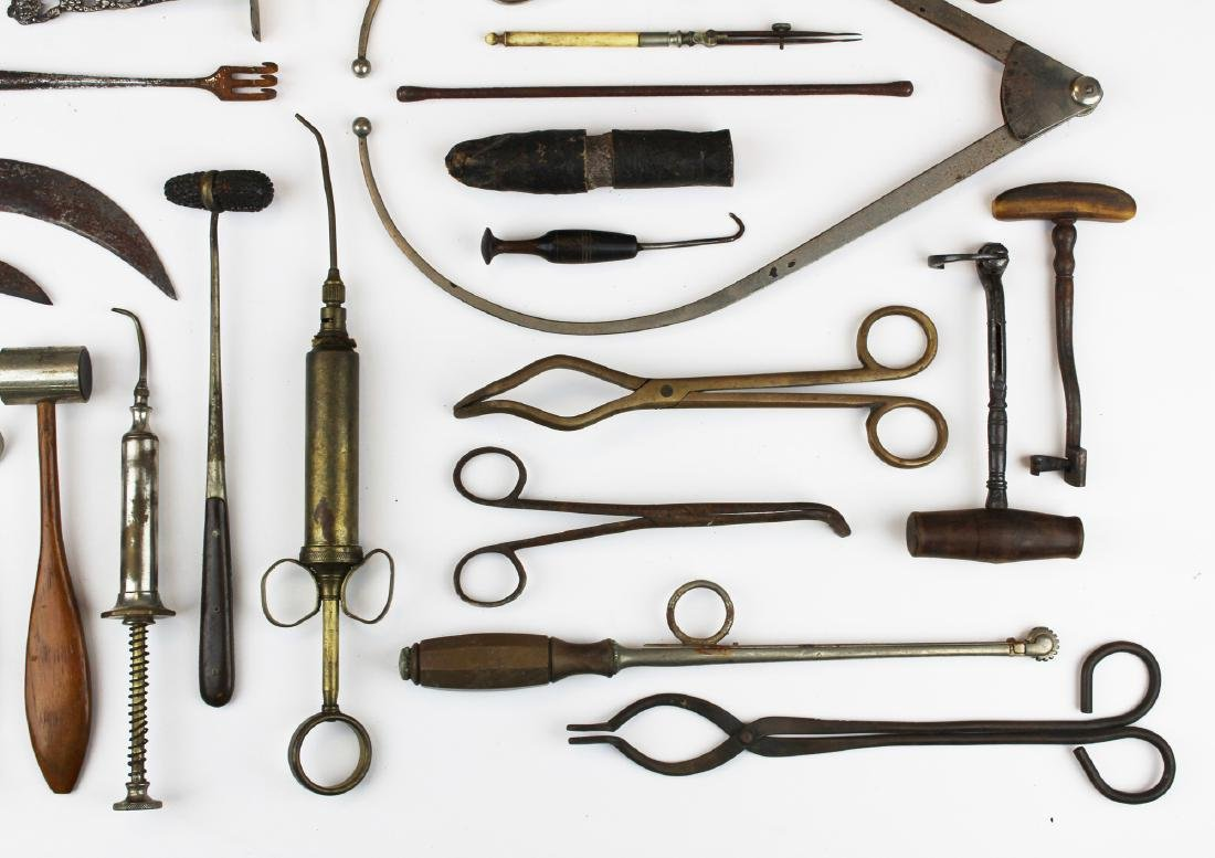 19th c & 20th c surgical & doctor implements. - 4