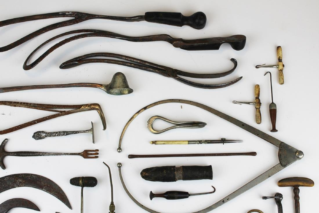 19th c & 20th c surgical & doctor implements. - 5