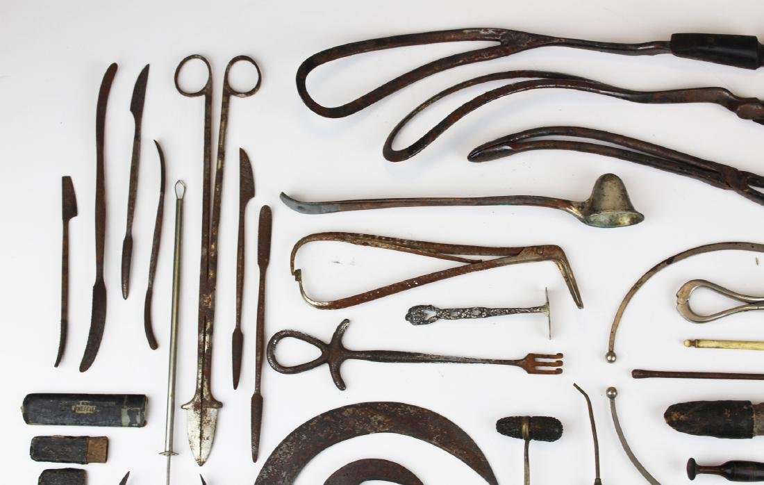 19th c & 20th c surgical & doctor implements. - 6