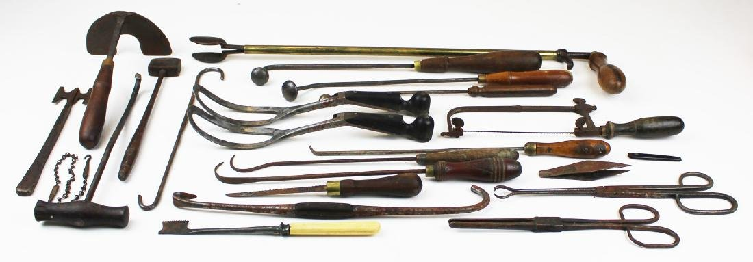 19th c & early 20th c surgical tools - 2