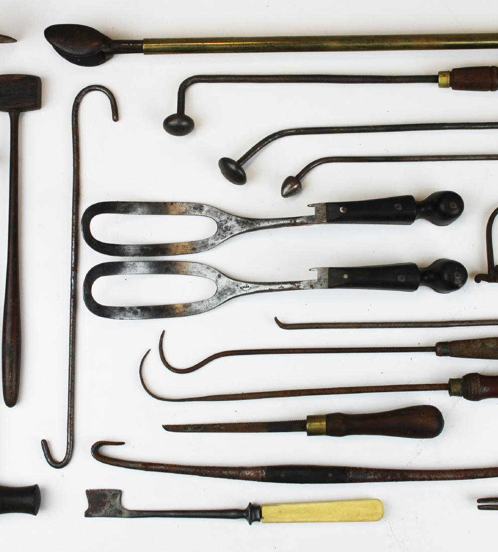 19th c & early 20th c surgical tools - 4