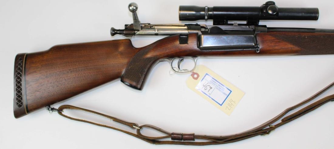 Customized Krag-Jorgensen Rifle