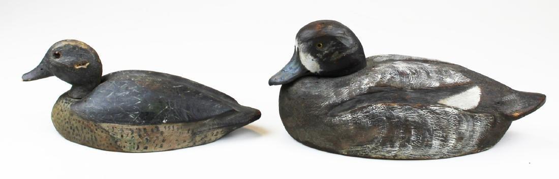 rare signed Leo Gervais Canadian duck decoy