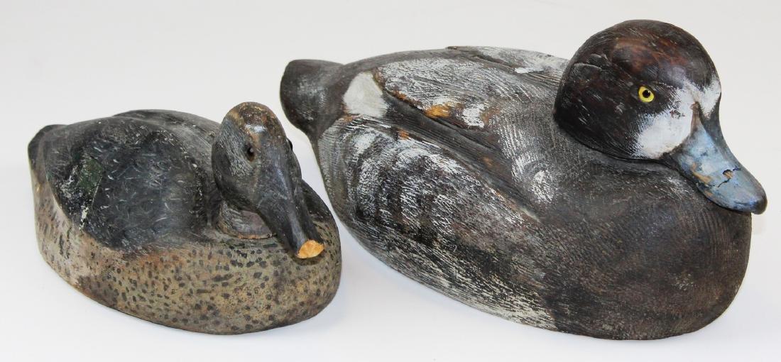 rare signed Leo Gervais Canadian duck decoy - 2