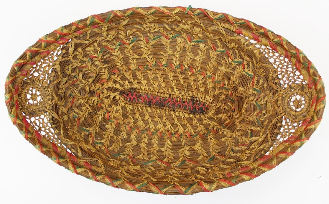 20th c Native American pine needle baskets - 3