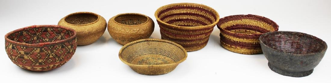 seven 20th c ethnographic baskets - 3