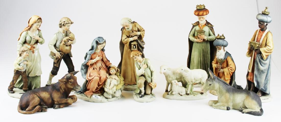 Giuseppe Armani Capodimonte Nativity set
