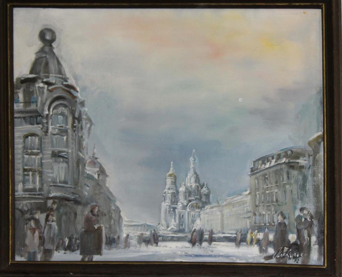 20th c view of Moscow