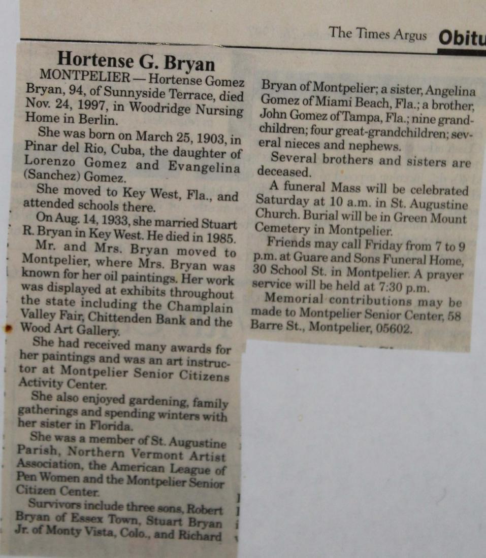 Hortense G Bryan (VT 1903-1997) - 3