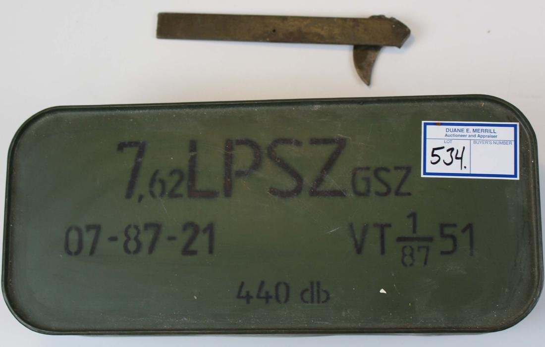 Russian Spam Can of  7.62 x 54 ammo