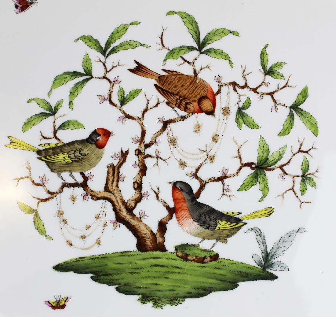 Herend Rothchild Bird round porcelain platter - 2