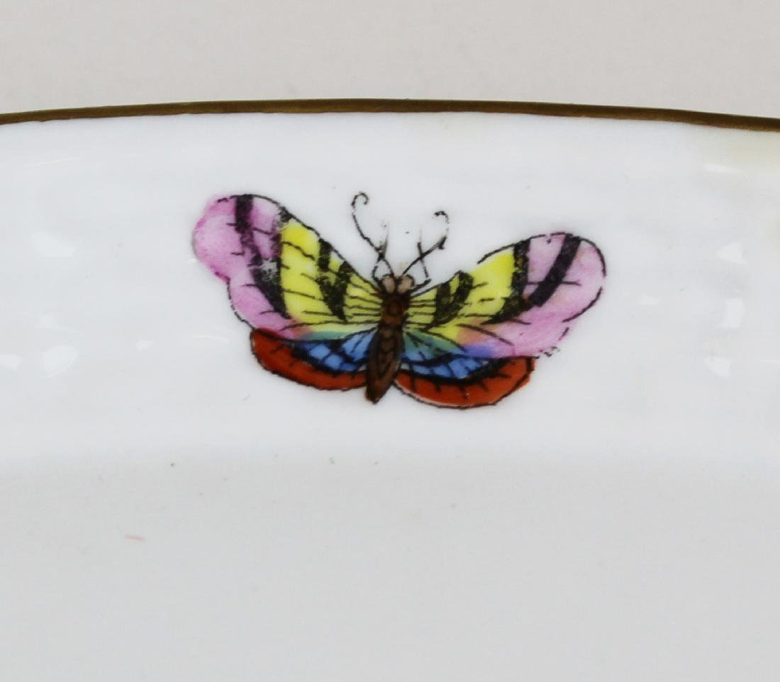 Herend Rothchild Bird round porcelain platter - 3