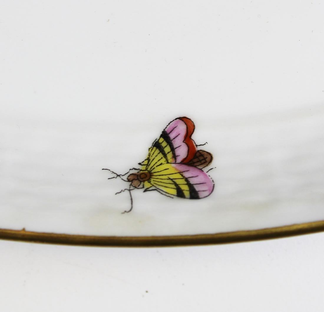 Herend Rothchild Bird round porcelain platter - 4