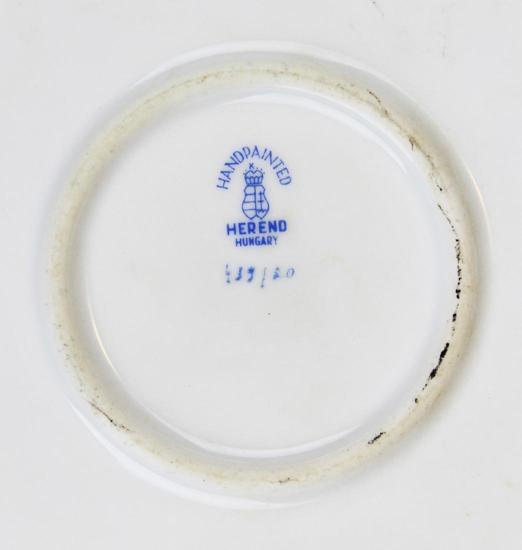 Herend Rothchild Bird round porcelain platter - 8