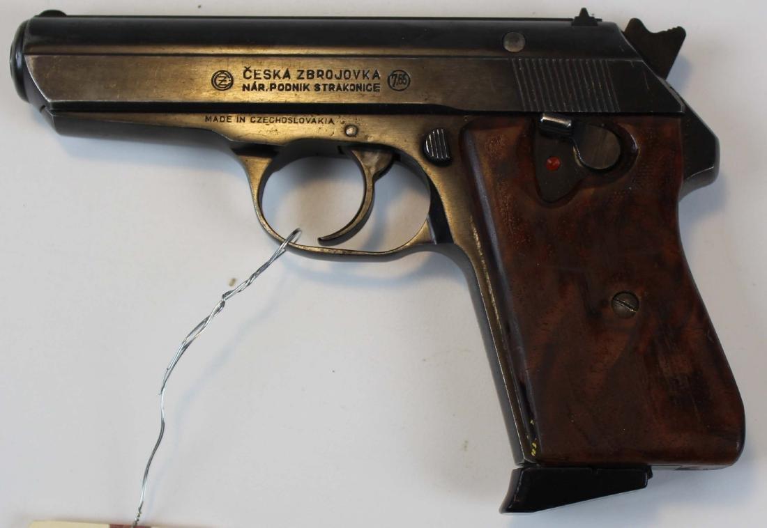 Ceska CZ-50 pistol in .32ACP
