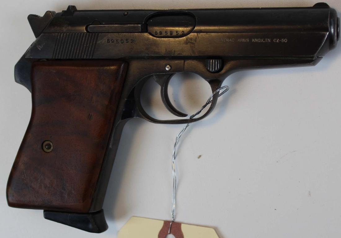 Ceska CZ-50 pistol in .32ACP - 2