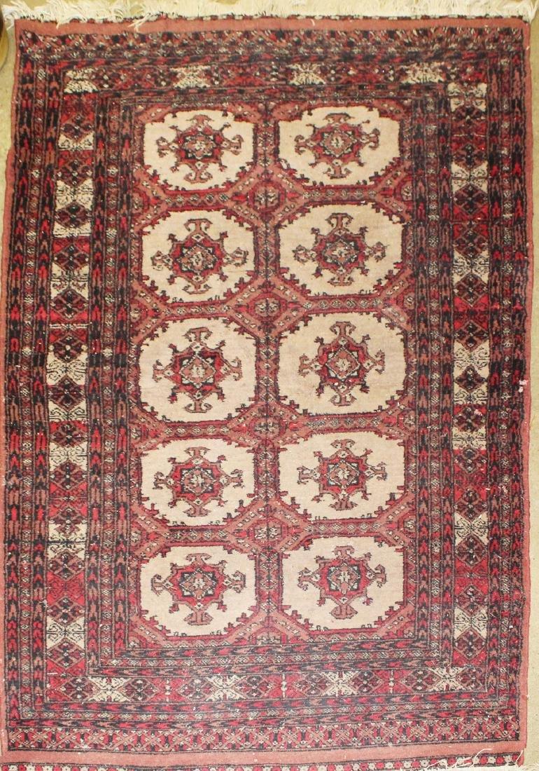 late 20th c Tekke style area rug