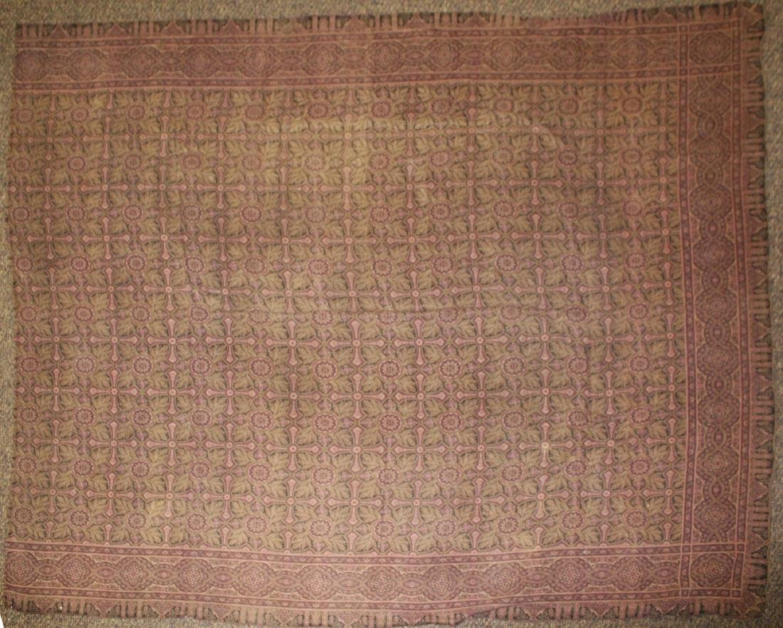 late 19th- early 20th c paisley shawl - 5