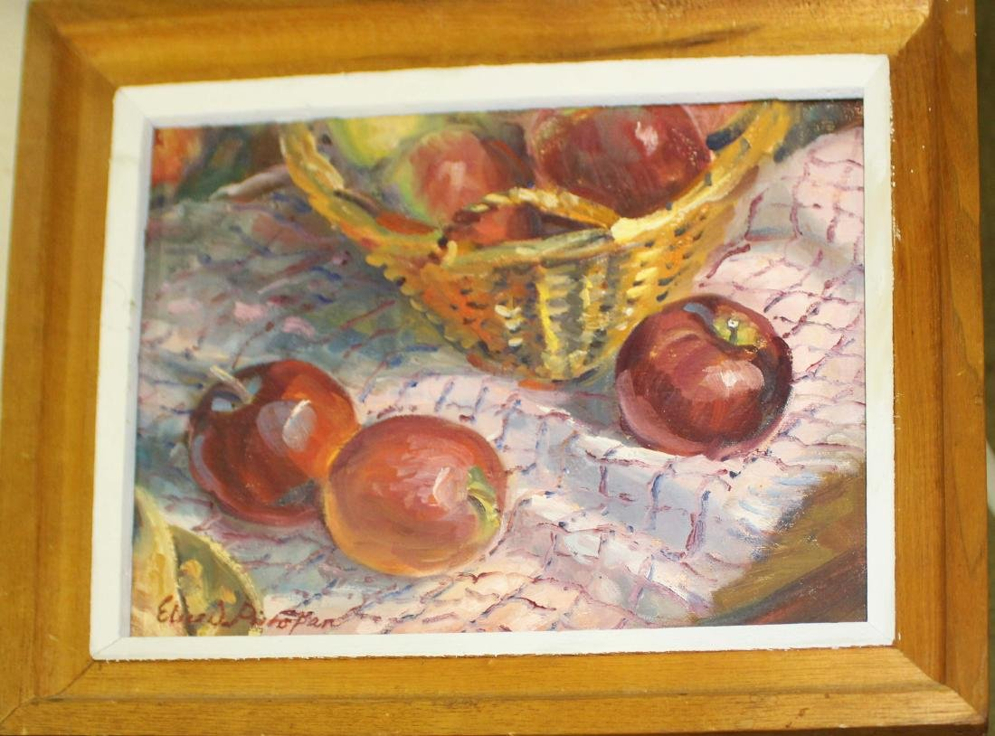 Elice Pieropan (Vt) Apples in Basket