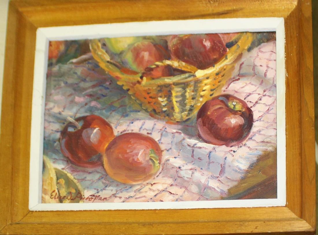 Elice Pieropan (Vt) Apples in Basket