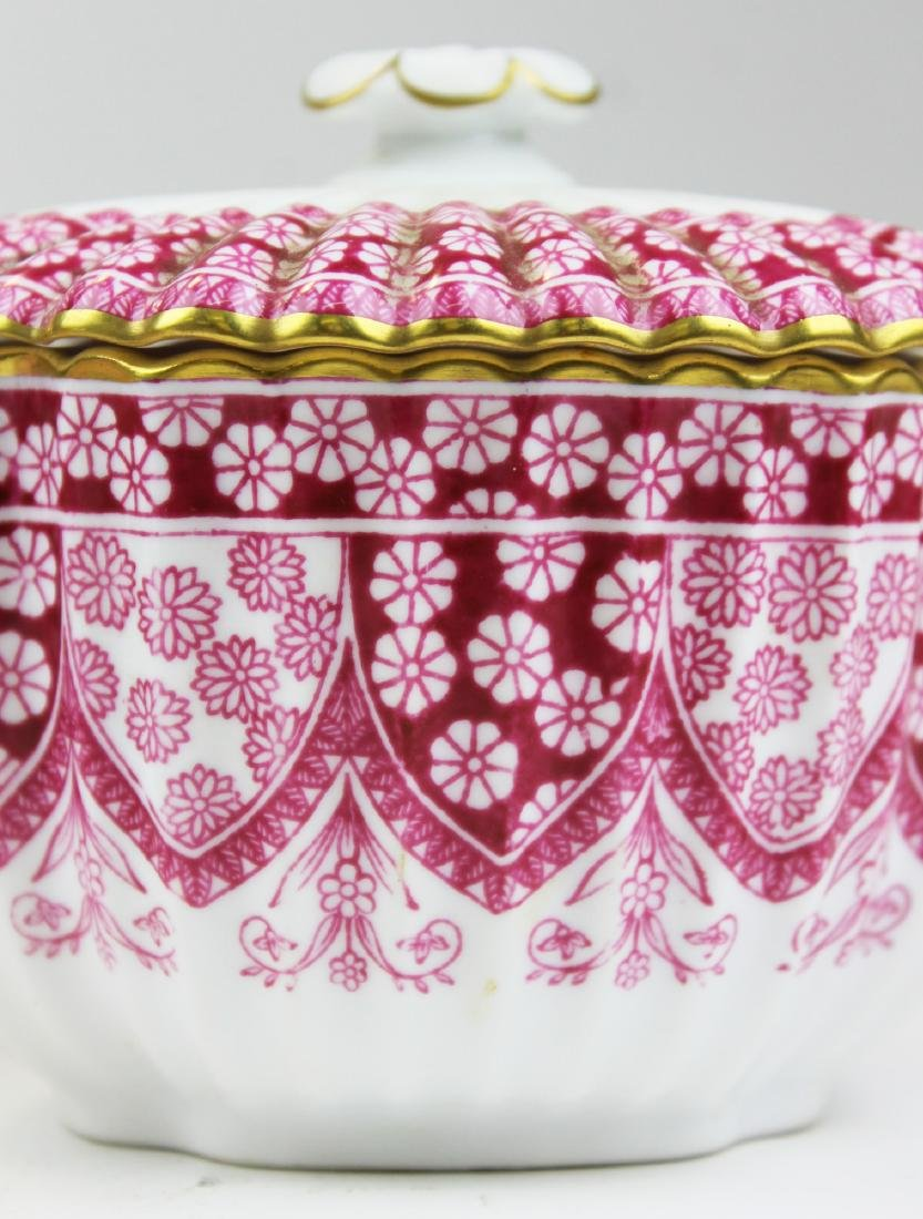 Spode Primrose bone china porcelain dessert set - 3