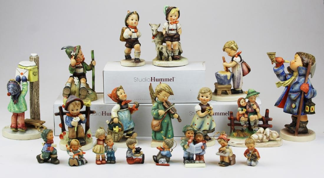 lot of  20 Hummel & Goebel figurines