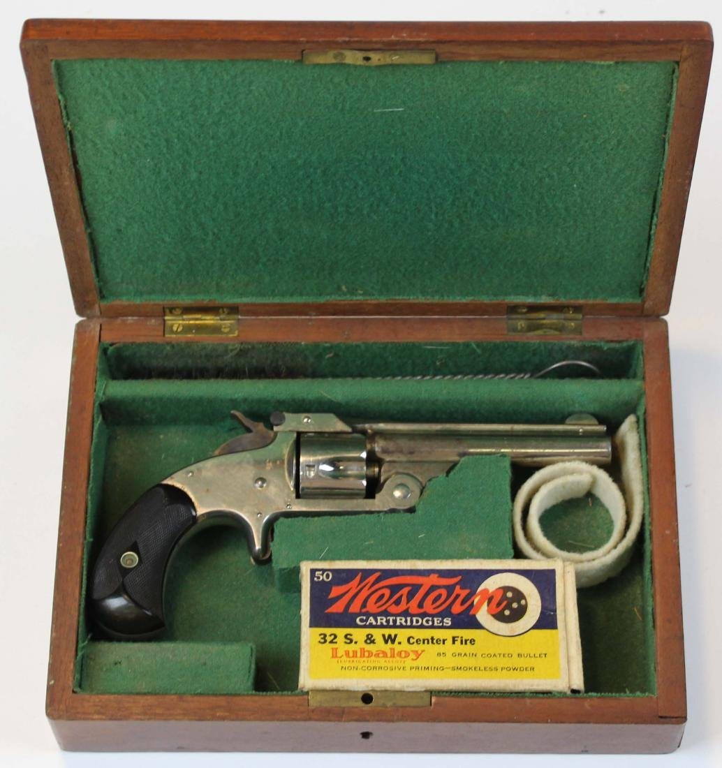 Smith and Wesson No. 1 1/2 revolver