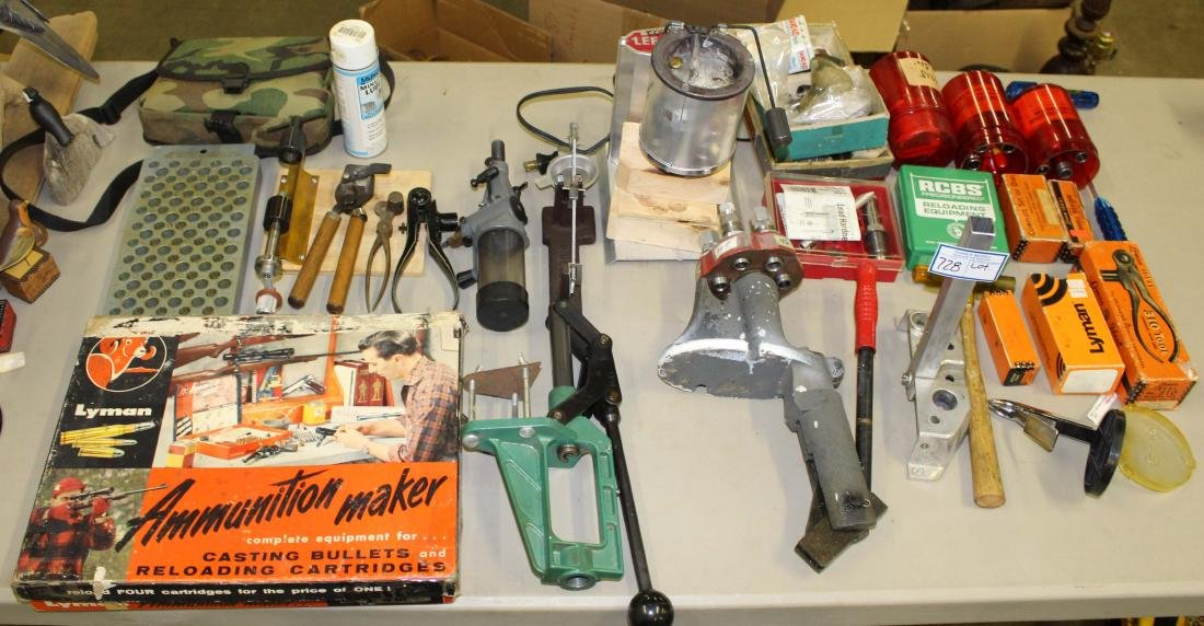 Lot of Misc reloading tools and dies