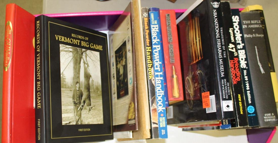 Lot of Sporting books including