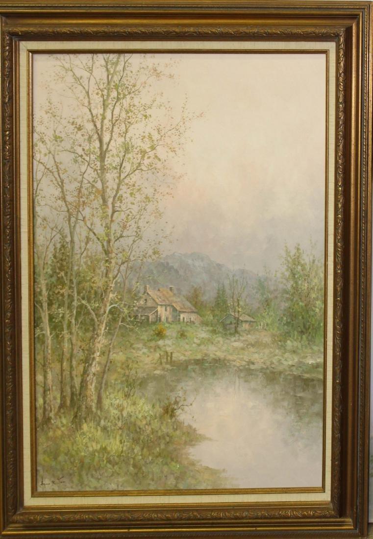 Hyun Bo Yoo (SK 1946-) Landscape